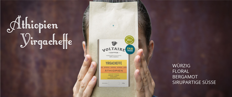 Äthiopien Yirgacheffe, bio, fair trade