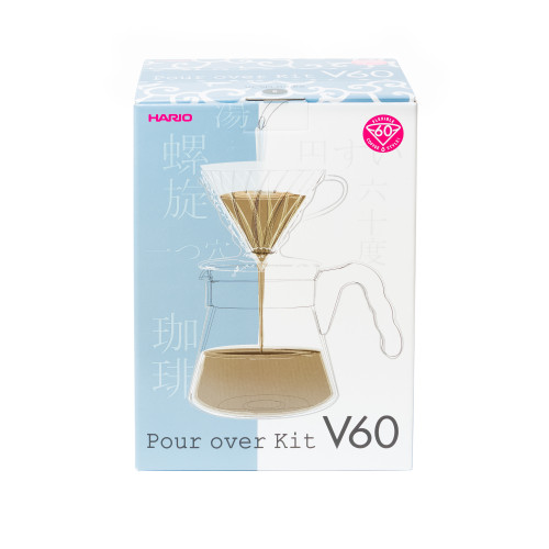 V60 Pour Over Kit Verpackung