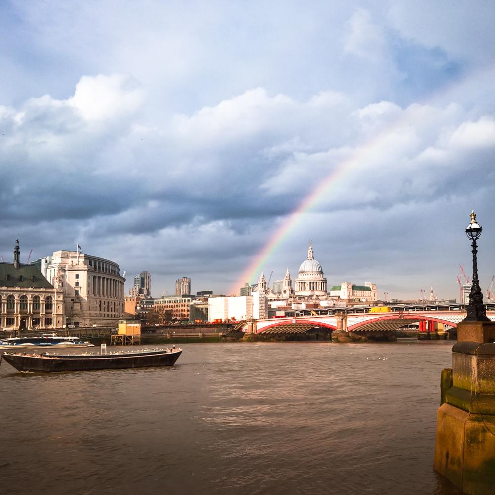 London Coffee Festival 2016, Rainbow over London