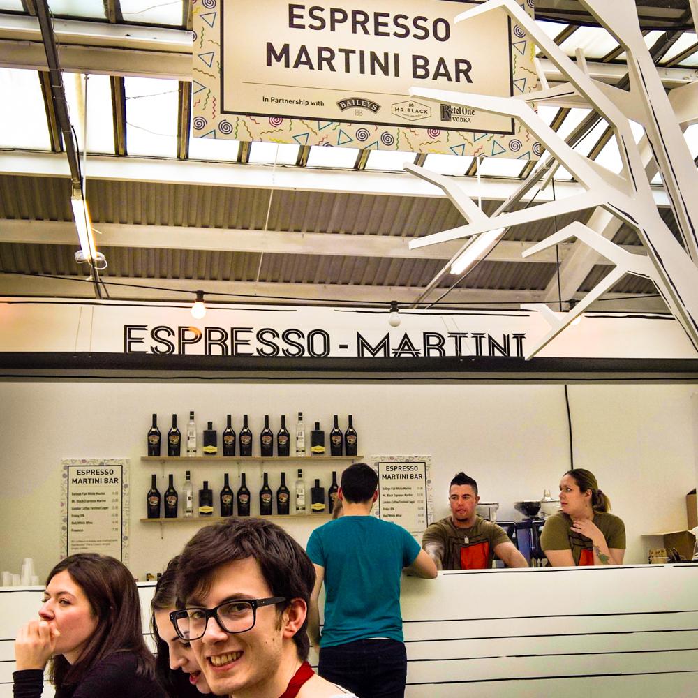 London Coffee Festival 2016, Espresso Martini Bar