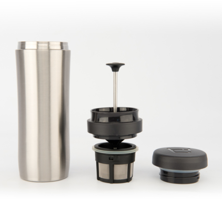 Espro Coffee Travel Press Stainless Steel brushed