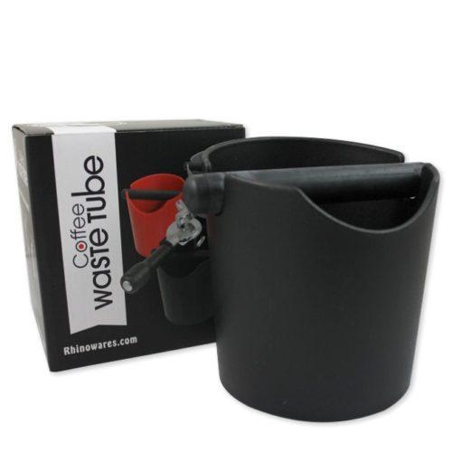 Rhinowares Coffee Waste Tube Abschlagbeälter schwarz