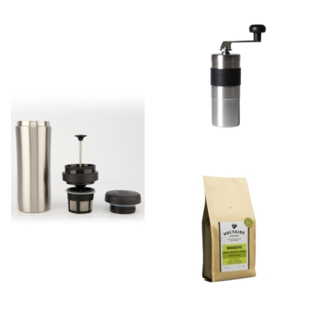 The World Traveller Coffee Making Set