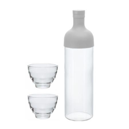 Filter in Bootle Cold Brew Set mit Teegläsern FIHU-2012-PGR-EX