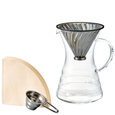 Hario V60 Pour Over Decanter Set VPD-02HSV