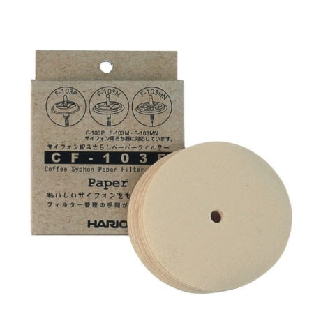 Hario Papierfilter für Coffee Syphon TCA/NXA/ SCA CF-103E