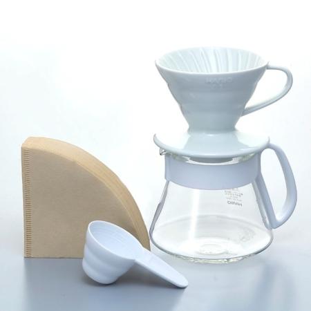 Hario Handfilter-Set weiß VDS-3012W