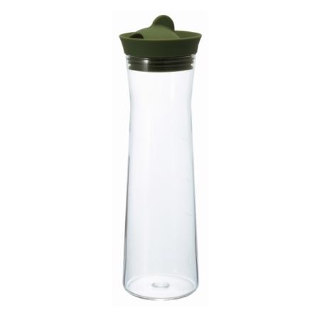 Hario Water Jug Wasserkaraffe 1000ml olivgrün WJ-10-OG